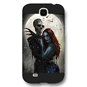 Customized Disney Series For CaseSamsung Galaxy S4, The Nightmare Before Christmas Samsung Galaxy S4 Case, Only Fit for Samsung Galaxy S4 (Black Frosted Shell)