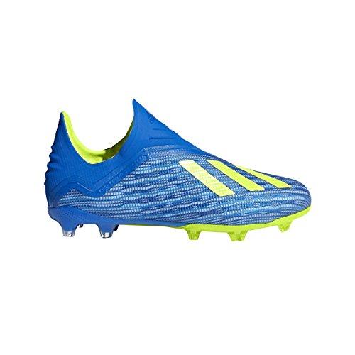 adidas Kid's X 18+ FG J Soccer Cleats (Sz. 5.5) Blue