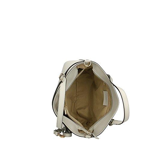 main véritable Cm femme cuir à sac Aren en fabriqué italie 37x27x12 Gris en ECqYwH