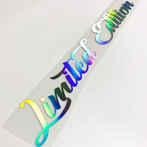 Limited Edition Aufkleber Hologramm Autoaufkleber Tuningsticker Regenbogenfarben Hologramm Sticker Oilslick Auto