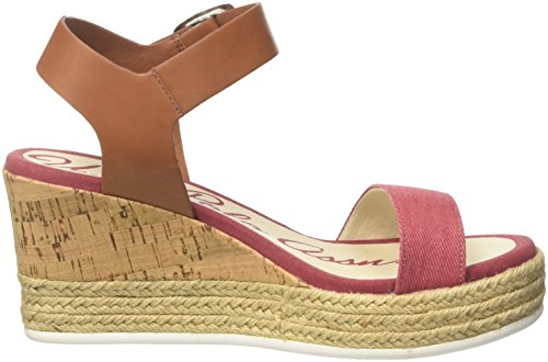 Sandalias T ASSN POLO para de Jeans S Mujer red Niva3 Multicolor Tira U con Brw red Brown BzxXpq