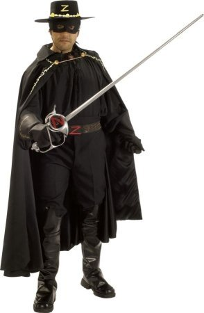 Grand Heritage Zorro Adult Costume - -