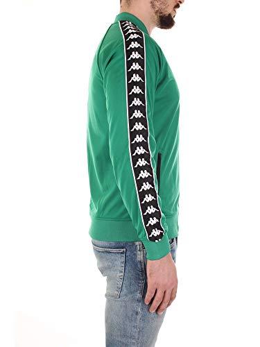 Verde Kappa bianco Uomo nero Felpa 303wy10 4ZqZxg6