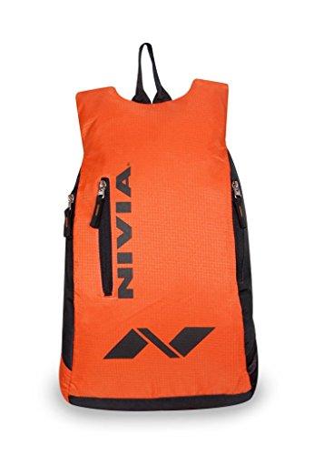 NIVIA 'Conviction?2' ? Orange?Black Backpack