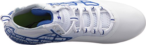 Royal Banshee Under White Team MC Armour Mid Men's Shoe Lacrosse OOzvSq