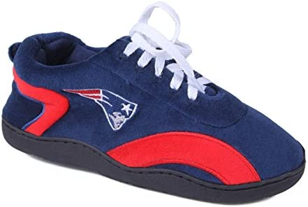 Officially Licensed Mens and Womens NFL Sneaker Slippers Happy Feet /& Comfy Feet