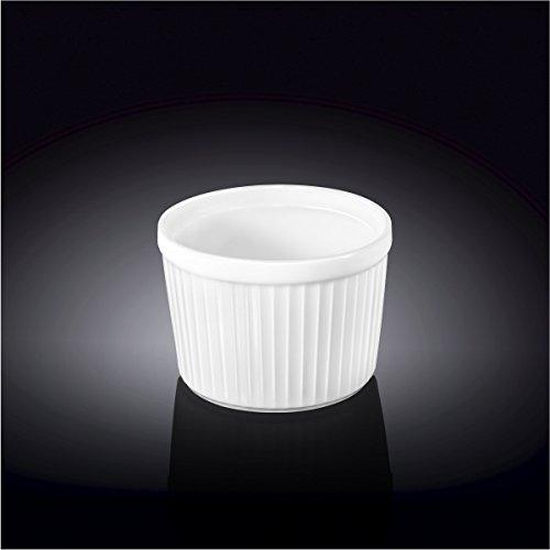 Wilmax 996121 3.5 x 2.5 in. Ramekin44; White - Pack of 48