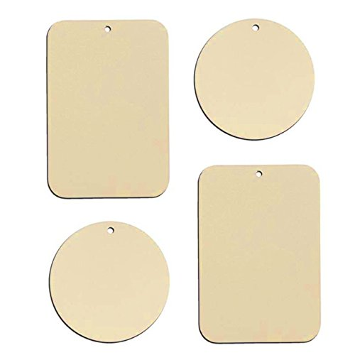 Metal Plate with 3M Adhesive Back for Magnetic Car Mount Cel
