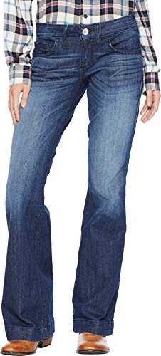 Ariat Women's Trouser, Half Moon Chill Blue, 29 S