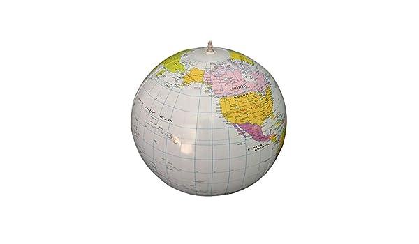 YiGo 1PC Globo Inflable de PVC Inflable del Globo del Mundo Tierra ...