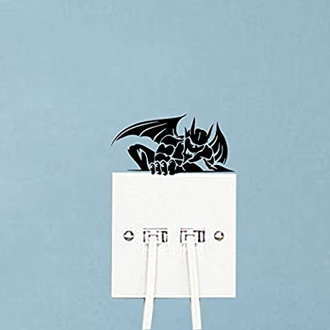 Gargoyles Funny Cartoon Home Room Decor Vinyl Wall Stickers Switch Decals 5WS1235 (Funny Gargoyles)