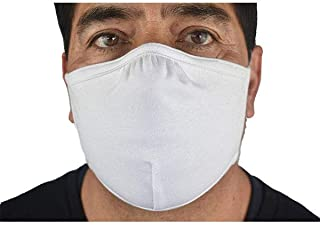 product image for DOUBLE LAYER, ADJUSTABLE MASK (WHITE)