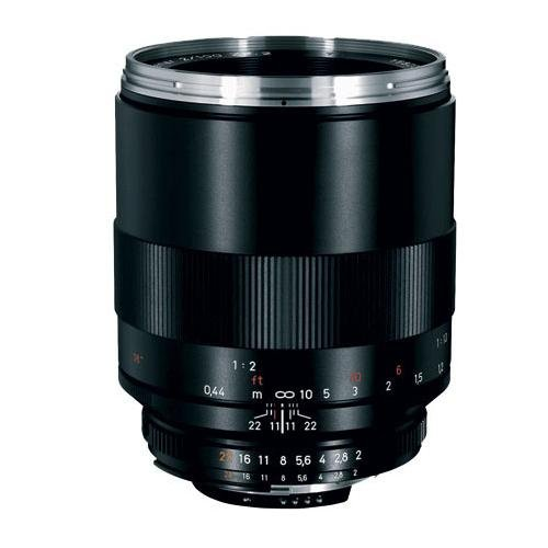 Zeiss 100mm f/2.0 Makro Planar ZF.2 Manual Focus Macro Lens for the Nikon F (AI-S) Bayonet SLR System. - Bundle - with Tiffen 67mm Photo Essentials Filter Kit, Lens Cap Leash, Professional Lens Cleaning Kit,