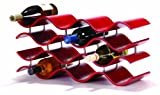 Oenophilia Bali Wine Rack, Crimson -12 Bottle