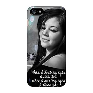 New Style AlikonAdama Hard Cases Covers For Iphone 5/5s- When I Close My Eyes