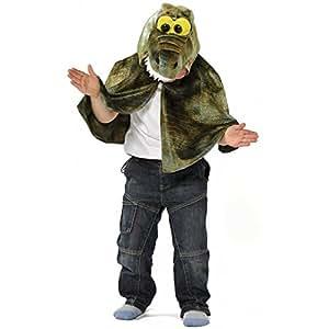 Kids - Disfraz de cocodrilo para niño, talla 3 - 6 años