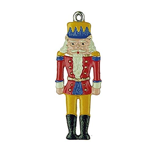 Pinnacle Peak Trading Company Nutcracker German Pewter Christmas Tree Ornament Decoration Made in Germany - World Pewter Olde