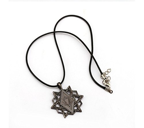 Mxcostume Apple of Eden & Stars Cosplay Necklace Accessories for Game - Eden Assassins Apple Of Creed