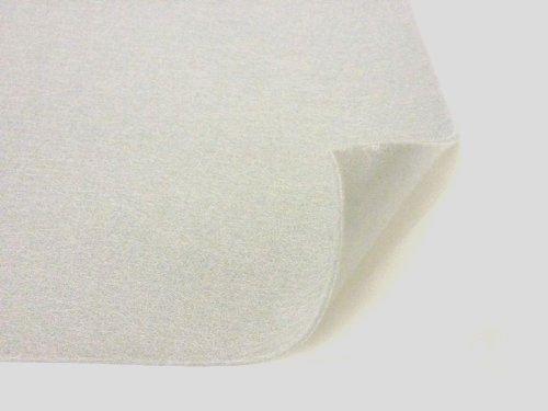 9' x 12' Adhesive Backed Craft Felt, White, Pack of 5