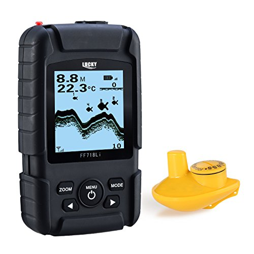 Lucky Portable Wireless Sonar Fish Finder for Kayak