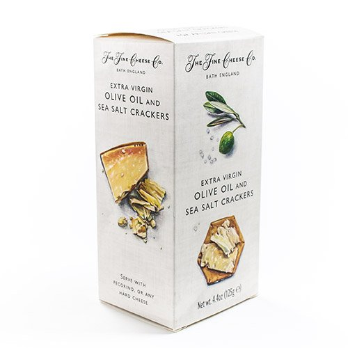 Specialty Crackers from The Fine Cheese Co. - Olive Oil & Sea Salt (4.4 ounce)
