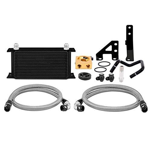 Mishimoto MMOC-WRX-15TBK Black Thermostatic Oil Cooler Kit