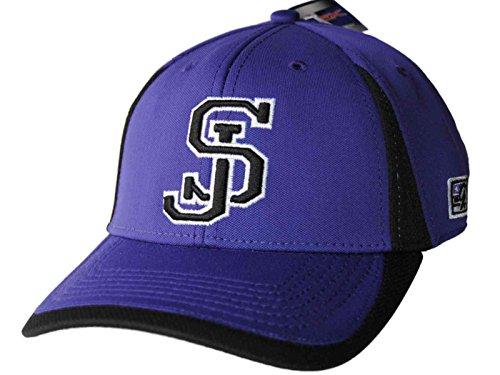 地域賛辞筋肉のSan Jose State Spartans The Gameパープルソフトボール調節可能な構造化帽子キャップ