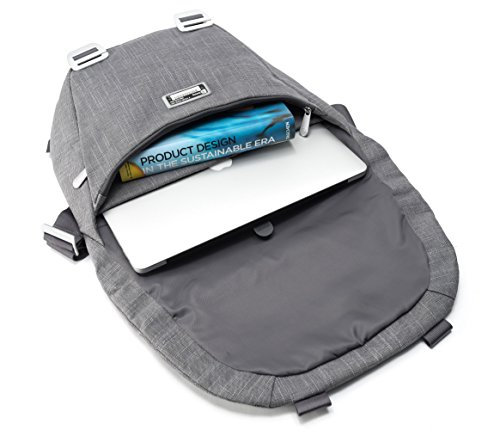 Booq Shadow 15 Messenger case Grey - Notebook Cases (Messenger case, 38.1 cm (15), Shoulder strap, 950 g, Grey)