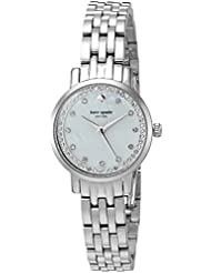 kate spade new york Womens Mini Monterey Quartz Stainless Steel Casual Watch, Color:Silver-Toned (Model: KSW1241)