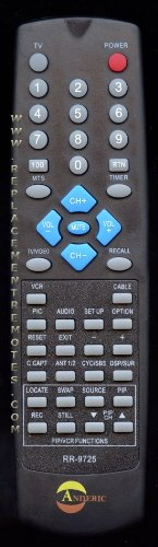 Original Toshiba Replacement Remote Control, Works Most older TV's, No Programming Required