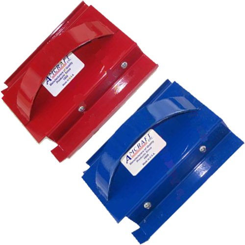 Amcraft 1'' R4 insulation Red & Blue Duct Tools (1'', Red and Blue) by Amcraft