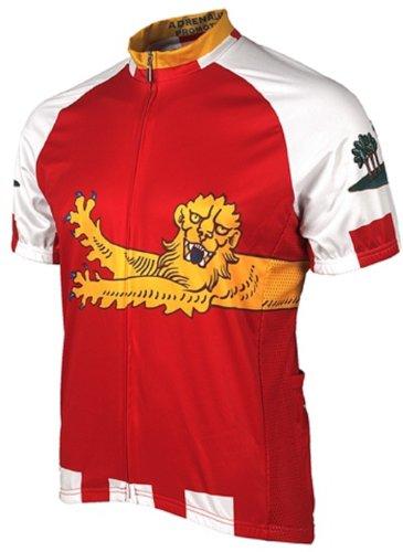 Adrenaline Promotions Canadian Provinces Prince Edward Island Cycling Jersey, Multi, X-Large