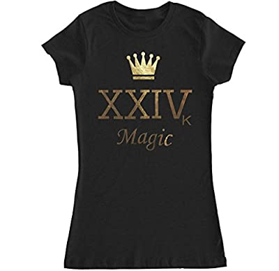 FTD Apparel Women's Crown XXIVK Magic T Shirt