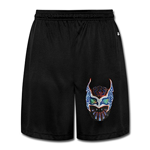 Kalisto Wrestler Logo Mask Shorts