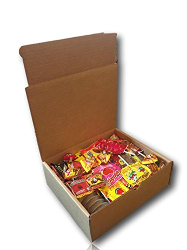 Mexican Candy Variety Care Package By Athomeplus 40 Count Perfect
