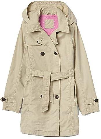 Gap Kids Girls Khaki Tie-Waist Trench Coat XXL 14 16 - Gap Girls Jacket