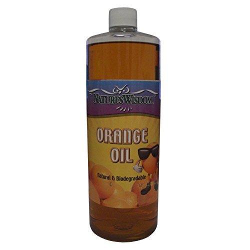 (Cold Pressed Orange Oil Concentrate by Nature's Wisdom (D-Limonene) 16 oz)