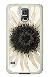 Sunflower 27 White Hard Case Cover Skin For Samsung Galaxy S5 I9600