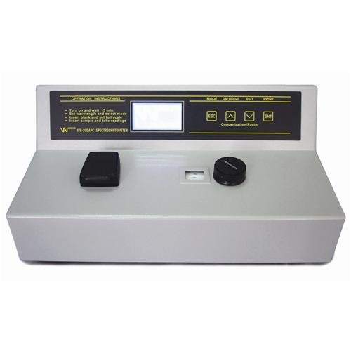 Walter Products WP-110RS Spectrophotometer 90-240V, 50-60 Hz
