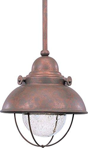 Sea Gull Lighting Copper Outdoor Pendant - 5