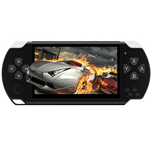 Handheld Games for Kids Adults 4.3 Inch Portable HD Game Machine Modern Video Games Built-in 10,000 Free Games, Electronic Game Player for Boys Girls Birthday Gift (Black)
