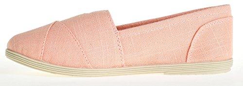 Soda-damesobjecten Flats-schoenen Mauve