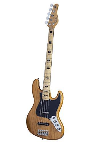 Schecter DIAMOND-J 5 PLUS AN 5-String Bass Guitar, Aged Natural