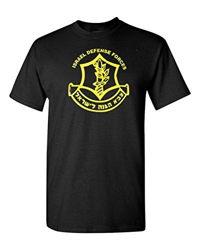 Got-Tee Men's IDF Zahal Israel Defense Forces T-Shirt 5XL Black