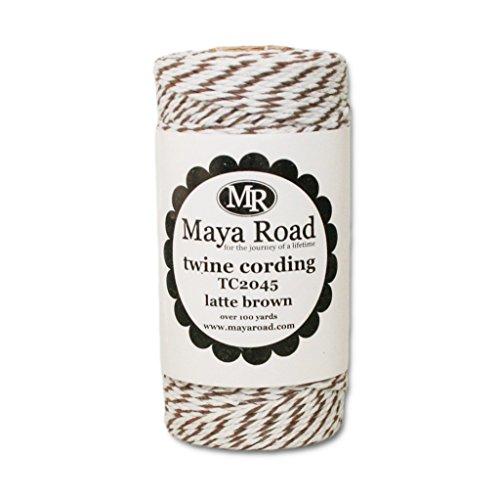 Maya Road Baker's Twine Cording, Latte B...