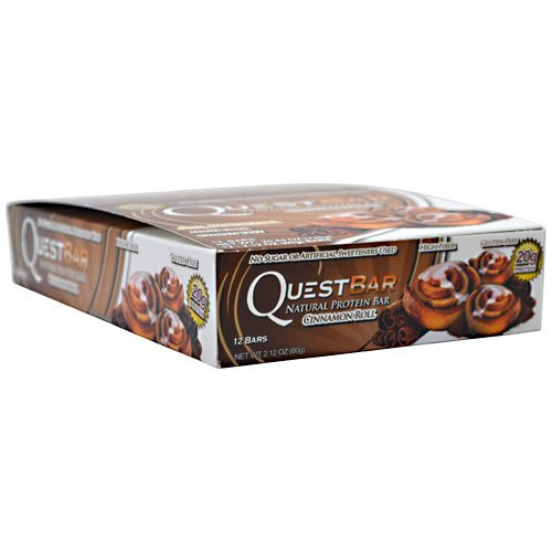 Quête Nutrition QuestBar Protein Bar Cinnamon Roll - 12 2,12 oz Bars