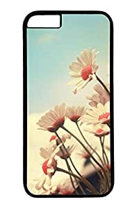 Beautiful Flowers 03 Slim Hard Cover for iPhone 6 Plus Case ( 5.5 inch ) PC Black Cases
