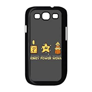 Money Power Women Samsung Galaxy S3 9300 Cell Phone Case Black phone component RT_158488