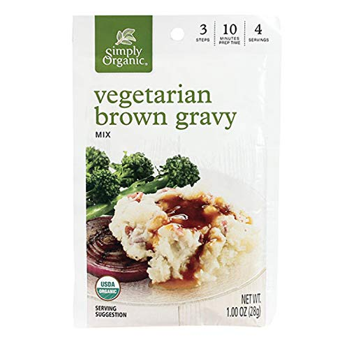 (Simply Organic Mix Gravy Brown Vegetable, 1 oz)
