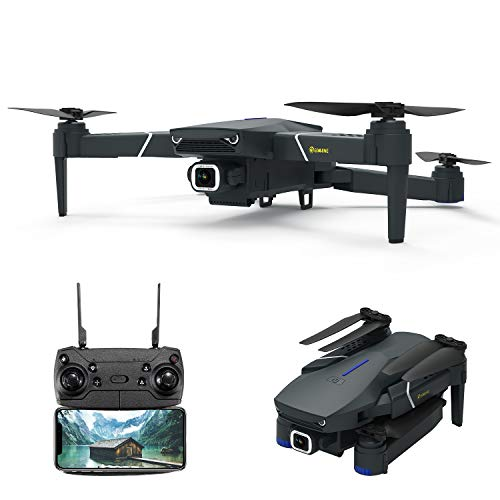 EACHINE E520 Drone with Camera 4K for Adults WiFi FPV Long Distance Drone for Adults with 4K HD 120° Wide Angle Camera…